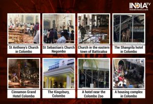 Easter Sunday attacks 21 April