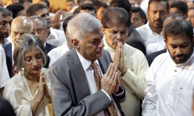 Image: UNP Prime Minister (Ranil Wickremesinghe) and his inner coterie had not robbed the Central Bank of Sri Lanka …